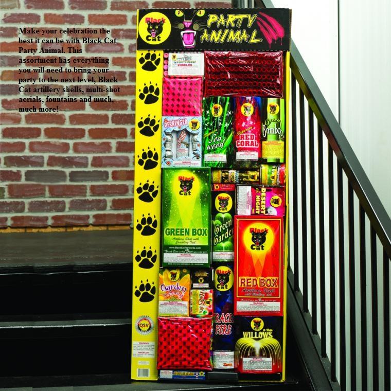 Black Cat Party Animal Assortment